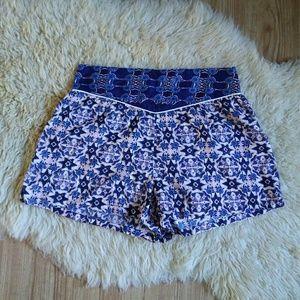 LA Hearts // PacSun Boho High Waist Print Shorts